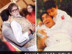 Amitabh Bachchan Shares Wonderful Then And Now Pic Of Son Abhishek