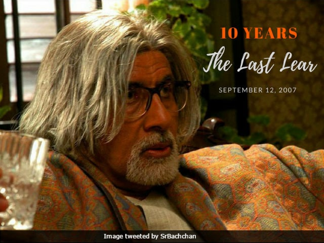 Amitabh Bachchan Remembers The Last Lear And Late Director Rituparno Ghosh