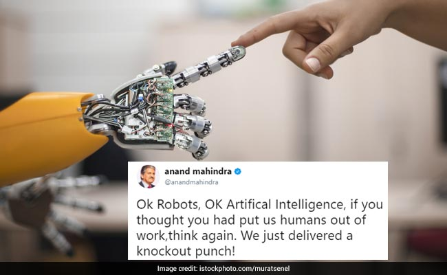 Robots vs Humans: Video Tweeted By Anand Mahindra Shows Why Humans Still Rule