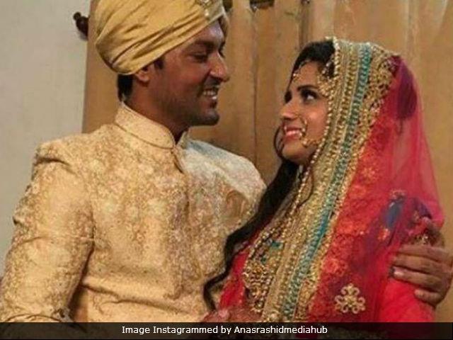 Anas Rashid Married Heena Iqbal In A Traditional Muslim Wedding. See Pics Here