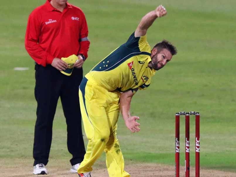 Andrew Tye replaces Pat Cummins for India T20s