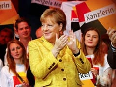 Angela Merkel Set To Win 4th Term As German Chancellor, Projections Show