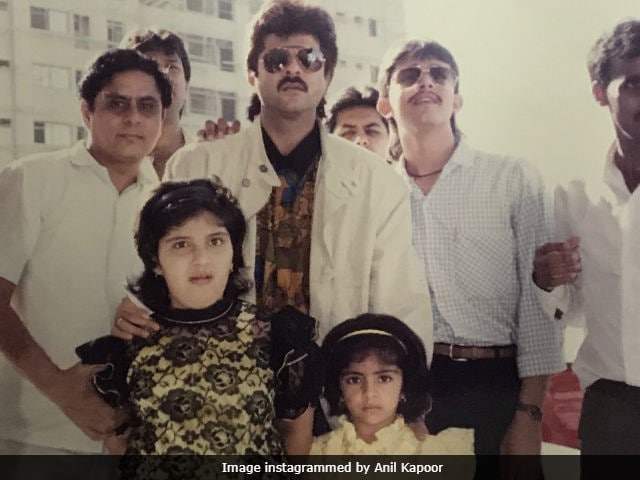 Anil Kapoor Met These 2 Little Girls In Dubai Again... 26 Years Later