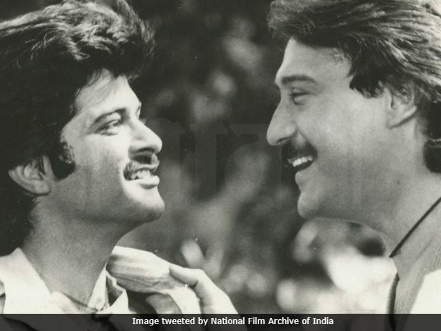 Anil Kapoor And Jackie Shroff In An Old Pic Before They Became Stars