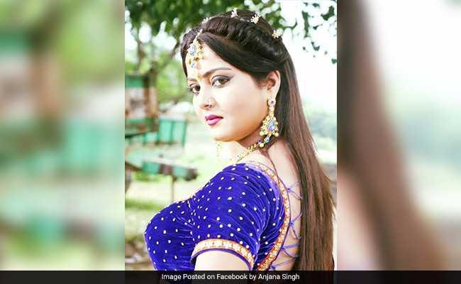 'सनकी दारोगा' रवि किशन की दीवानी हुई भोजपुरी सिनेमा की 'हॉट केक' अंजना सिंह!