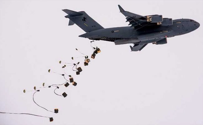antarctica food drop afp