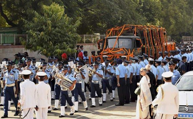 arjan singh funeral procession pti