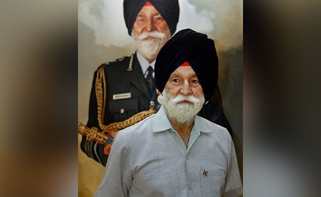 Arjan Singh, Marshal of Indian Air Force, Dies At 98