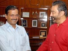 Amid Talk Of Political Debut, Kamal Haasan's Meeting With Arvind Kejriwal