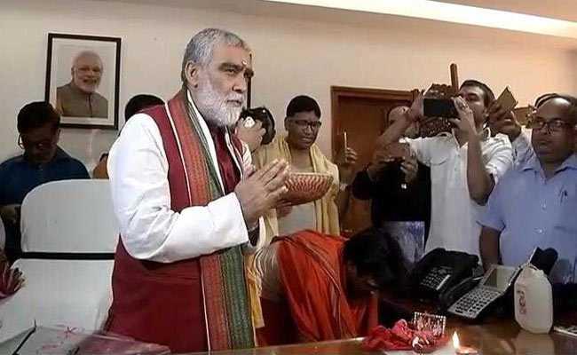 केंद्रीय मंत्री अश्विनी चौबे का न्यौते से कर दिया नाम गायब, बीजेपी ने कहा-ओडिशा सरकार ने किया अपमान