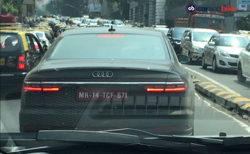 New Generation Audi A8 Luxury Sedan Spotted Testing In India Ndtv