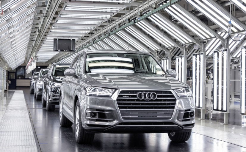 GST Cess Audi India Increases Prices Across Model Range NDTV - Audi models and price list