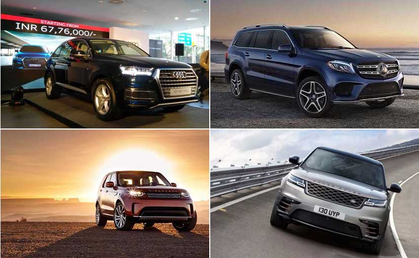 Audi Q7 Petrol vs Rivals: Specifications Comparison