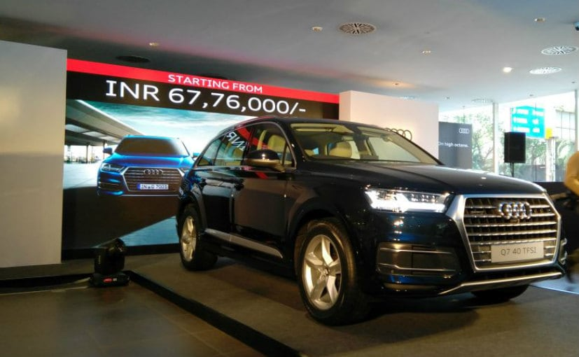 Petrol powered Audi Q7 launched at Rs 67.76 lakh