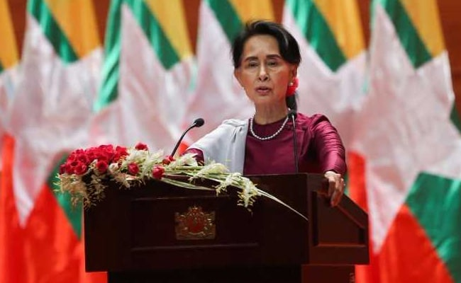 Oxford College Removes Alumnus Suu Kyi's Portrait Over Rohingya Crisis