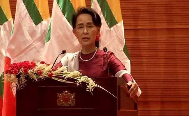 aung san suu kyi rohingya speech ndtv
