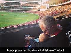 Australian PM Defends Viral Pic Showing Him Holding Baby And Beer