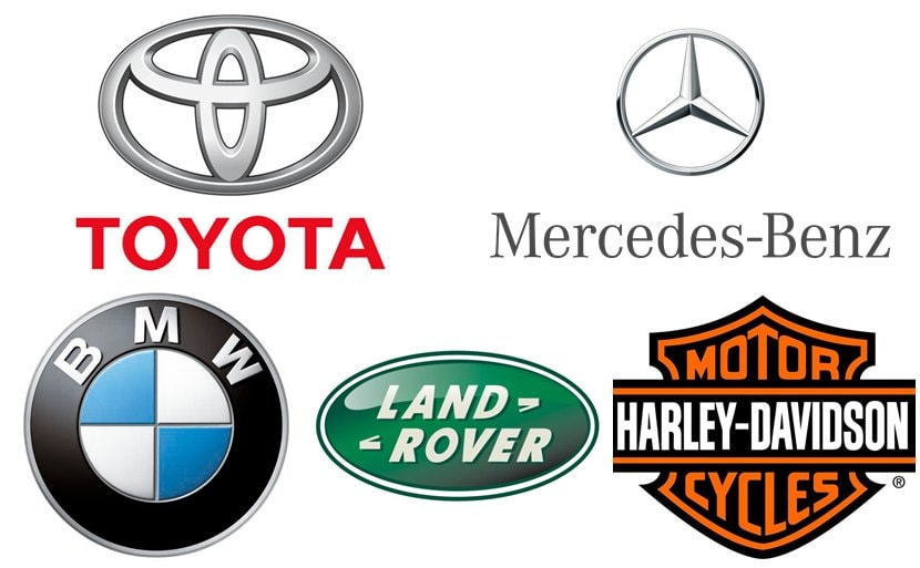 Top 100 Car Manufacturers In The World Auto Cars