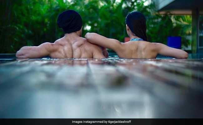 स्वीमिंग पूल में टाइगर श्रॉफ और दिशा पाटनी साथ-साथ... और आई यह खबर