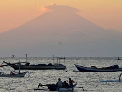Thousands Evacuated As Volcano Rumbles On Indonesian Holiday Spot Bali