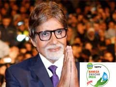 Highlights: Banega Swachh India #Mere10Guz 12-Hour Cleanathon With Amitabh Bachchan Gets Underway