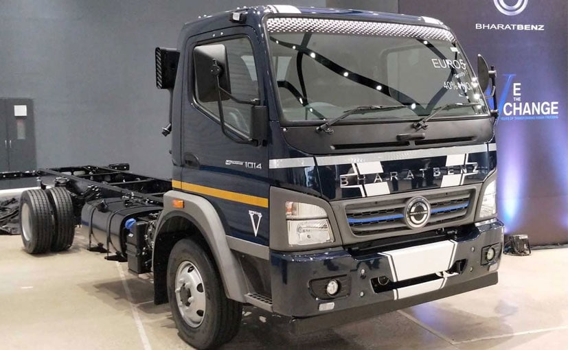 Norms Used Trucks >> Bharat Benz Launches India S First Euro V Trucks Carandbike