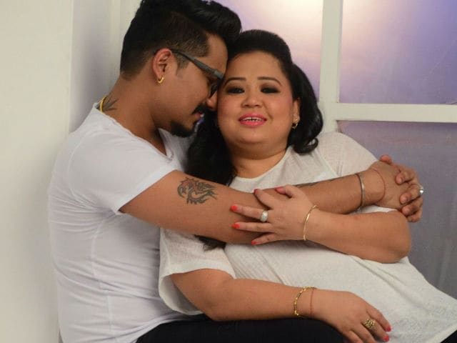 Image result for bharti singh and harsh limbachiyaa photo shoot