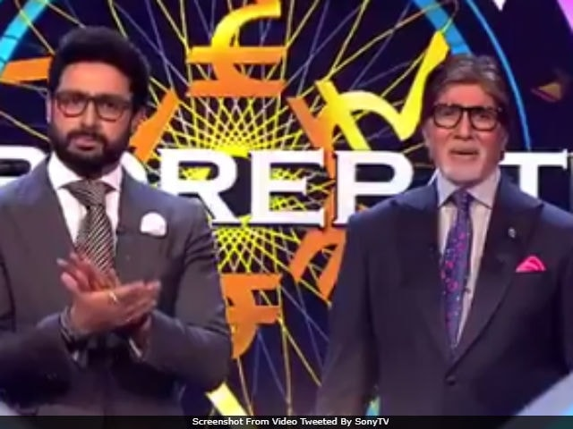 Kaun Banega Crorepati 9, Episode 15: Amitabh Bachchan Invites Abhishek On His Show