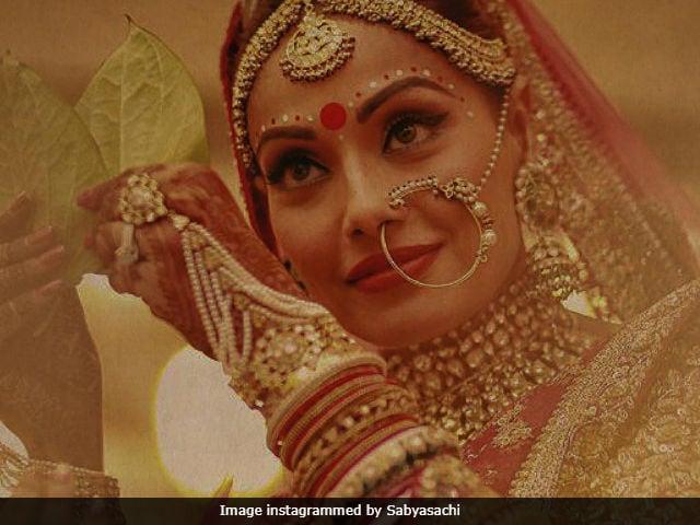 Dressing Bipasha Basu For Her Wedding, In Sabyasachi's Words