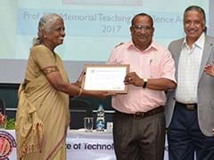 BITS Pilani Confers Prof. SS Ranganathan Memorial Teaching Excellence Award, 2017 To Prof. P. Srinivasan