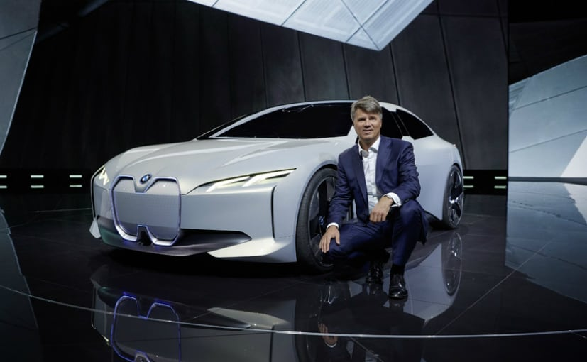 Bmw Ceo Sticks To Return On Sales Goal Even With Electric Cars