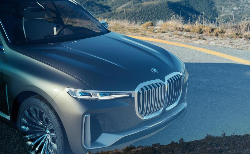 BMW Concept X7 iPerformance Previewed Ahead Of Debut At Frankfurt