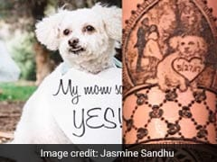 Bride Had Her Pet Pup Drawn In Shaadi Ki Mehendi. Pics Are Beyond Cute
