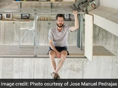This Man Created A Mysterious Office Suspended Underneath A Bridge