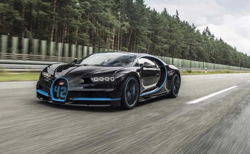 Bugatti Chiron Sets World Record In Under 42 Seconds