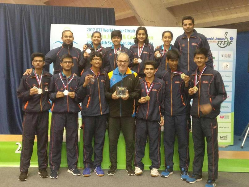 Slovenia Junior And Cadet Open: Indian Paddlers Create History, Win Gold And Silver In Junior Boys Team Event