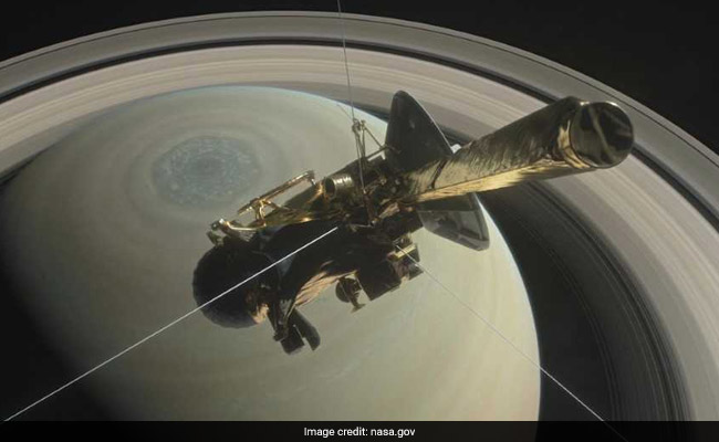 NASA's Cassini Spacecraft Will Crash Into Saturn - Its Final Screaming Success