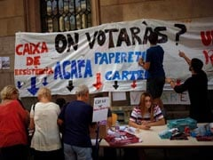 Spanish Police Occupy Catalan Tech Hub Before Banned Vote