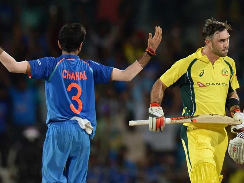 India Vs Australia: Yuzvendra Chahal Opens Up About His Plan To Dismiss Glenn Maxwell