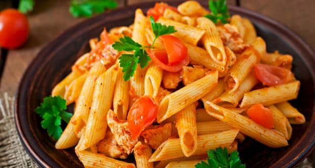 chicken penne arabboiata