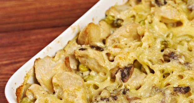 चिकन टेट्राज़िनी/ चिकन चीज पास्ता स्पैगटी