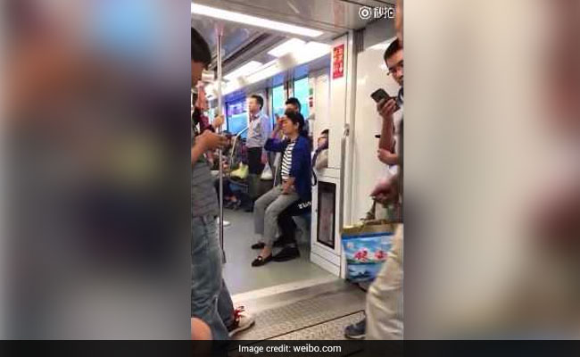 Man Refuses To Give Up Train Seat For Elderly Woman. She Resorts To This