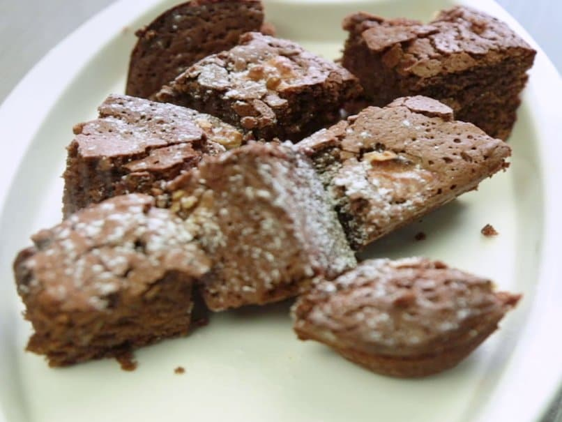 Chocolate & Walnut Brownie