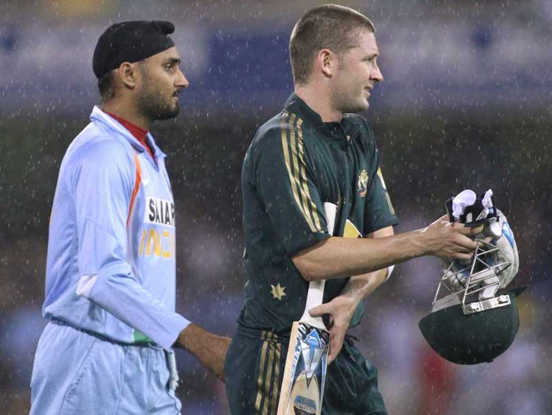 'Come Back Clarke': Harbhajan Quips As He Mocks Australian Batsmen