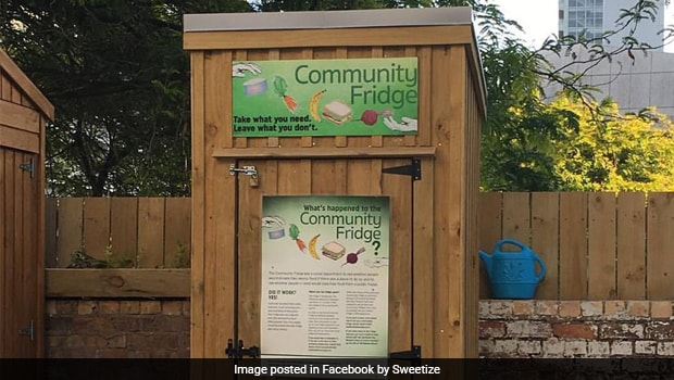 Gurugram's First Ever Community Fridge Helps in Reducing Food Wastage