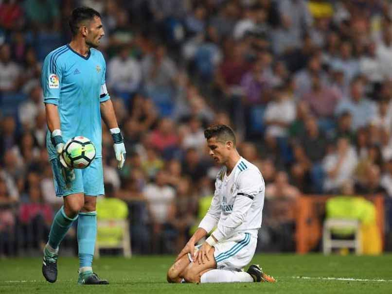 La Liga: Real Madrid Beaten By Real Betis On Cristiano Ronaldo Return