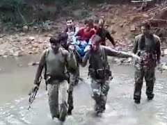 Security Men Found Her Sick By The Road, Carried Her On Foot For 7 Km