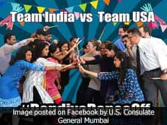Navratri 2017: It's Team India vs Team USA In A Dandiya Dance Off