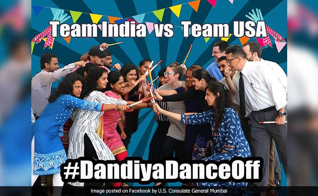 Navratri 2017: It's Team India vs Team USA In A Dandiya Dance Off