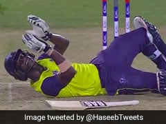 Pakistan vs World XI: Darren Sammy Applauds Hassan Ali After Being Knocked Down By Him